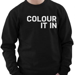 Unisex Stylish Black Colour It In Sweatshirt